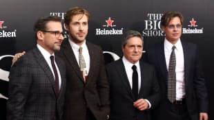 Brad Pitt, Ryan Gosling, Steve Carell
