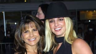 Britney Spears and her mother Lynne Spears
