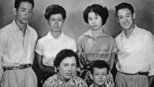 Bruce Lee y su familia