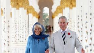 Duchess Camilla and Prince Charles in Abu Dhabi