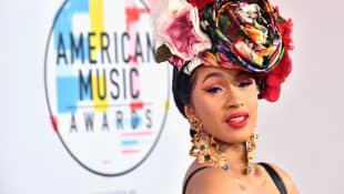 Cardi B Accepts Billboard's Woman Of The Year Award