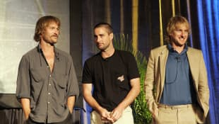 Luke, Andrew, and Owen Wilson attending Maui Film Festival - A Tribute To The Wilson Brothers in 2005