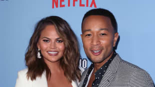 Chrissy Teigen Says She Feels Like A 'Real Housewife' During Quarantine With John Legend On First 'Ellen' Episode Back On Air
