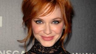 "Christina Hendricks starred as ""Joan Holloway"" in Mad Men"