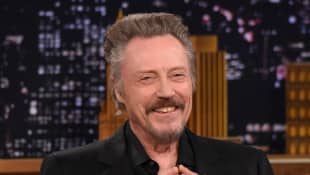 "Christopher Walken Visits ""The Tonight Show Starring Jimmy Fallon"" at Rockefeller Center on November 26, 2014 in New York City."
