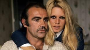 Sean Connery y Brigitte Bardot