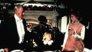 Sir Alec Guiness, Ricky Schroder and Connie Booth