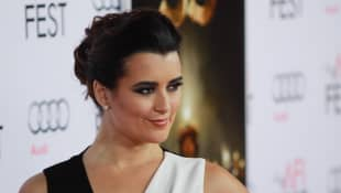 """Cote De Pablo at Warner Bros. """"The 33"""" Gala Screening at AFI Fest 2015 held at the TCL Chinese Theater in Hollywood, CA, November 9, 2015."""