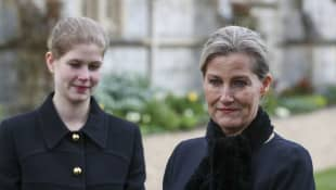 Countess Sophie Describes Prince Philip's Final Moments death very peaceful passing Duke of Edinburgh 2021 royal family news
