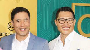 Daniel Dae Kim & Randall Park Movie Heist Film Asian-American cast