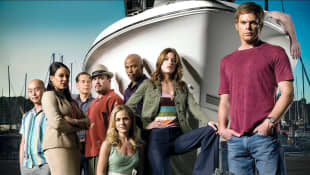 The cast of 'Dexter' in 2006