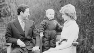 Princesa Diana Carlos y William