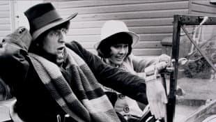 Elisabeth Sladen and Tom Baker