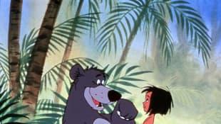 """""""Balu"""" and """"Mowgli"""" from Disney's """"Jungle Book"""""""