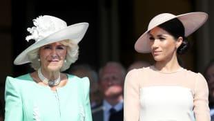 Duchess Camilla and Duchess Meghan
