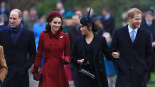 Prince William, Duchess Kate, Duchess Meghan and Prince Harry