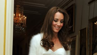 Duchess Kate's Second Wedding Dress You Probably Forgot reception gown Alexander McQueen royal Middleton Cambridge