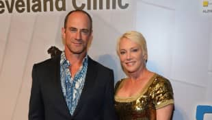 Christopher Meloni y Sherman Williams