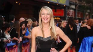 Emily Head attends the world film premiere of The Inbetweeners Movie at Vue West End on August 16, 2011 in London