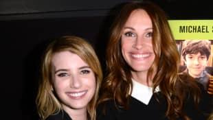 Emma Roberts and Julia Roberts