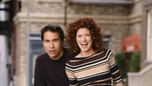 Eric McCormack and Debra Messing