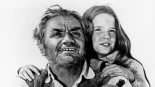 Ernest Borgnine and Melissa Gilbert