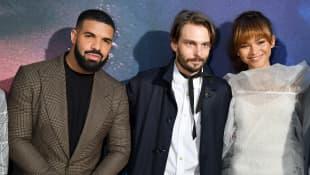 Drake, Sam Levinson y Zendaya
