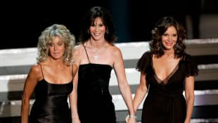 Kate Jackson, Jaclyn Smith, Farrah Fawcett 2006