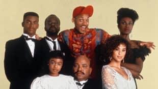 El elenco de 'El príncipe del rap'