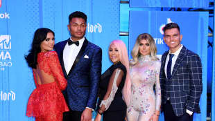Geordie Shore Cast at a red carpet event