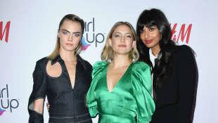Cara Delevingne, Kate Hudson and Jameela Jamil