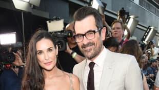 Demi Moore and Ty Burrell