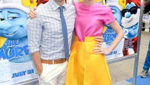 Jayma Mays and Adam Campbell
