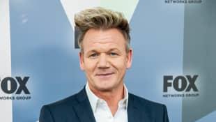 Gordon Ramsay attends the 2018 Fox Network Upfront.