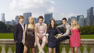 Cast of 'Gossip Girl' Season 1 photocall 2007