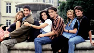 Elenco de la serie 'Friends'