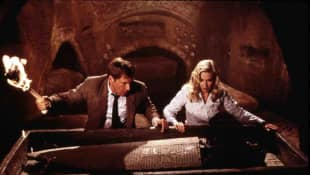 Harrison Ford and Alison Doody