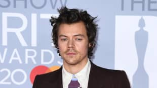 Harry Styles Wears Fishnets And Gucci Lipstick For 'Beauty Papers' Photo Shoot