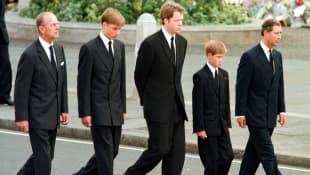 Princess Diana's Funeral Procession