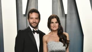 Aaron Lohr and Idina Menzel