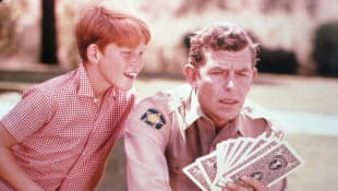 Andy Griffith and Ron Howard