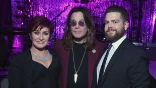 Jack Osbourne, Sharon Osbourne y Ozzy Osbourne