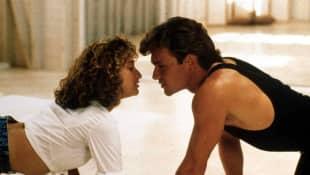 Jennifer Grey y Patrick Dempsey en 'Dirty Dancing'