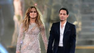 Jennifer Lopez and Marc Antony