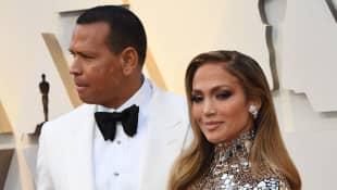 Alex Rodriguez y Jennifer Lopez
