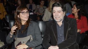 Joaquin Sabina con Jimena Coronado
