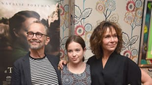 Joel Grey, Stella Gregg, Jennifer Grey