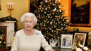 Queen Elizabeth II. christmas