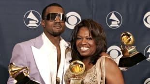 Kanye y Donda West