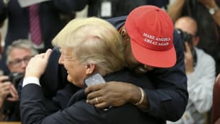 """Kanye West Wears MAGA Hat In Support Of Trump: """"Reminds Me How I Felt As A Black Guy Before I Was Famous"""""""
